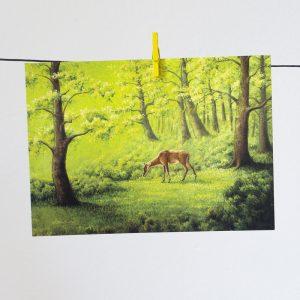 Nilgaiantilooppi-postikortti