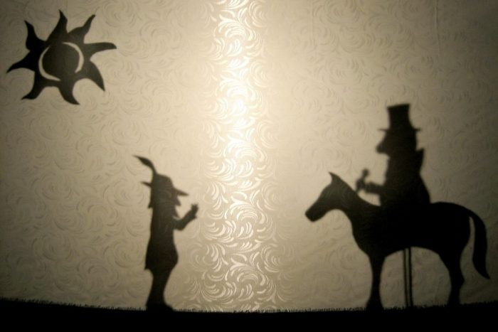 Shadow Puppets | I'd never fancied myself a shadow puppet sh… | Flickr